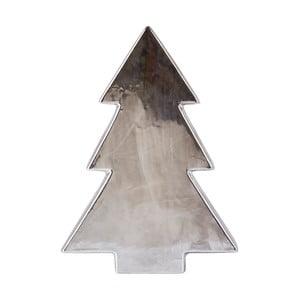 Statuetă decorativă din ceramică KJ Collection Tree Silver Matt, 32 cm