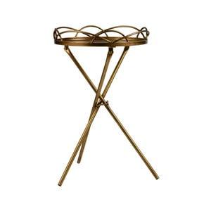 Kovový odkládací stolek BePureHome Films, ø 36 x 54 cm