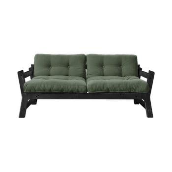 Canapea extensibilă Karup Design Step Black, verde imagine