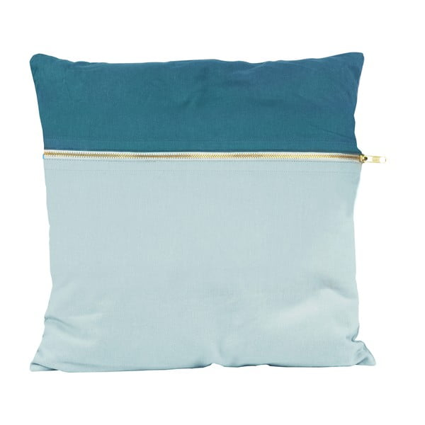 Polštář PT LIVING Duo Blue, 45 x 45 cm