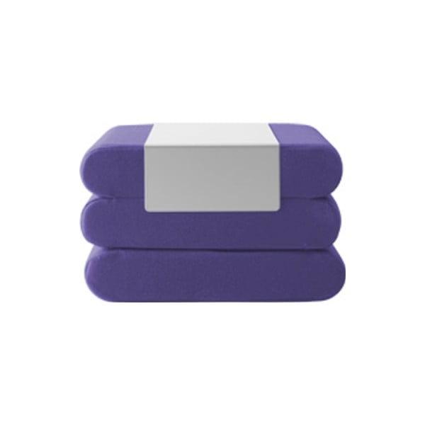 Fialový rozkládací puf Softline Bingo Vision Lilac