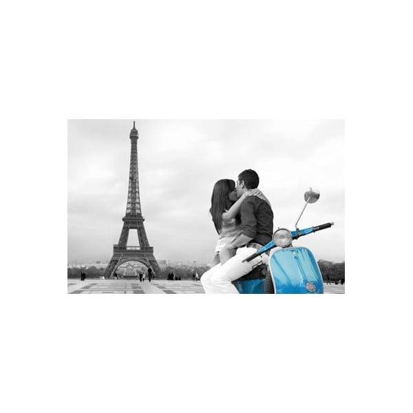 Paris Blue, 81x51 cm