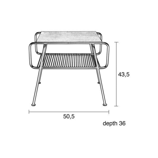 Odkládací stolek Zuiver Gunnik