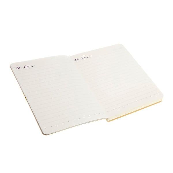 Zápisník se samolepkami Ditsy
