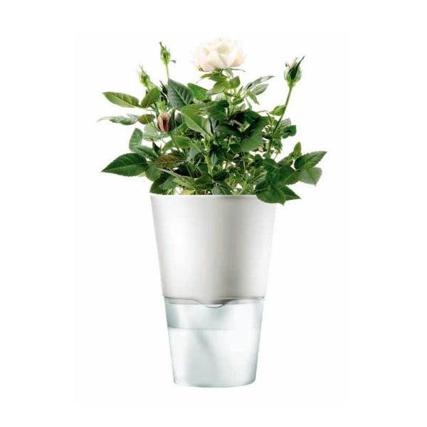 Samopodlévací květináč na bylinky Eva Solo White, 11 cm