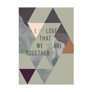 Autorský plakát We Are Together, A3