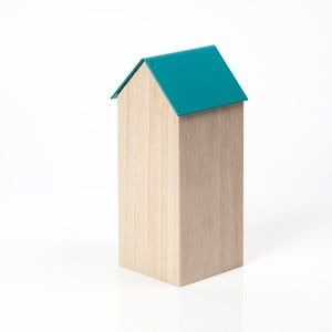 Modrý úložný box House Large