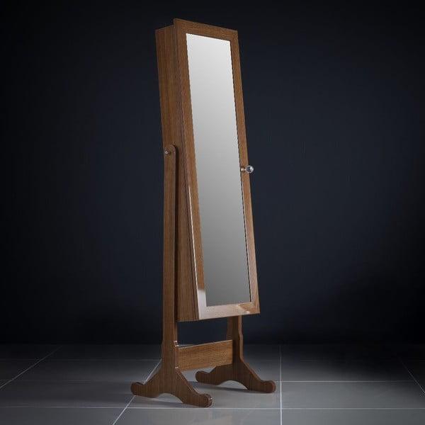 Uzamykatelné stojací zrcadlo se šperkovnicí Rebecca