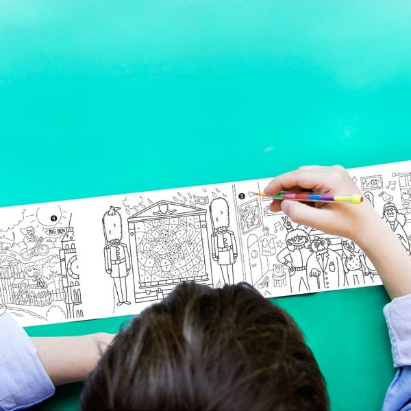 Kapesní omalovánka OMY Pocket City (30 x 42 cm)