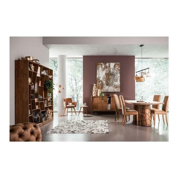 Sada 2 jídelních židlí z anilinu Kare Design Econo