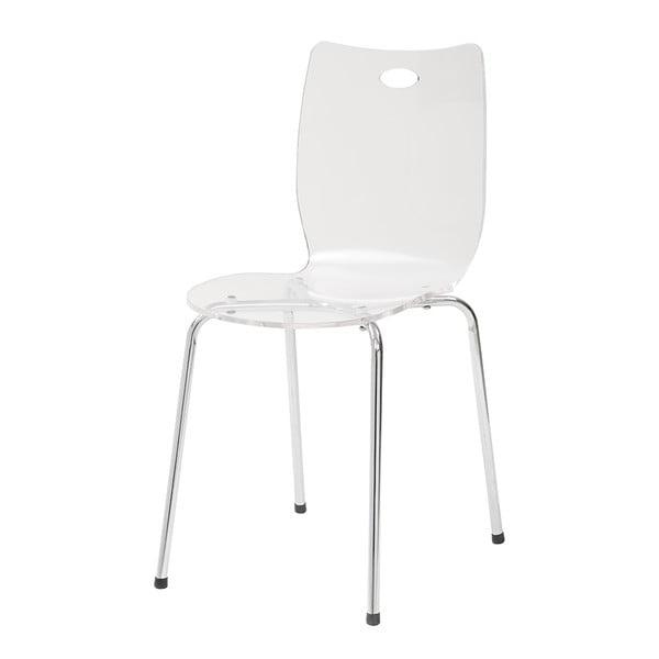 Jídelní židle Terry, bílá