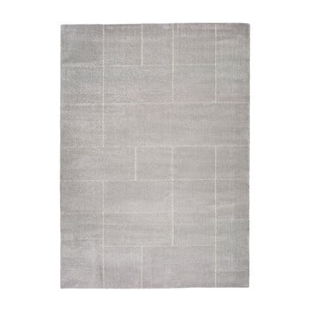 Covor Universal Tanum Plata, 80 x 150 cm, gri de la Universal