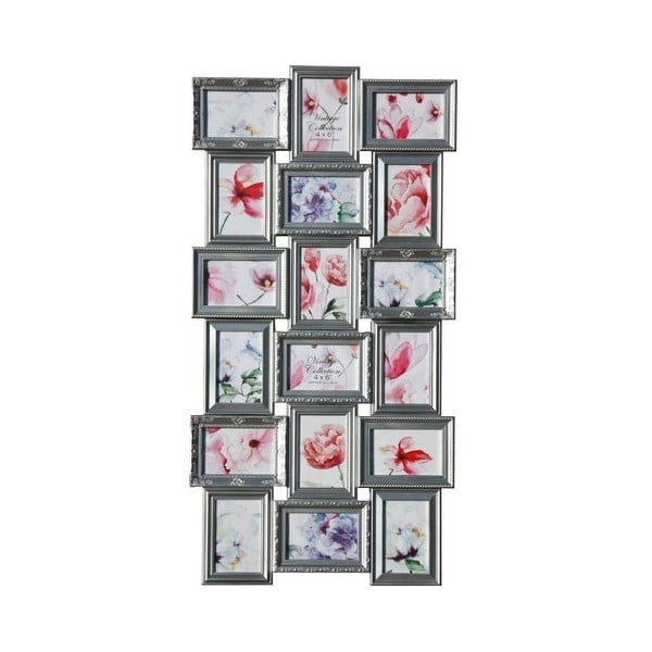 Sada osmnácti rámečků Photo, stříbrná