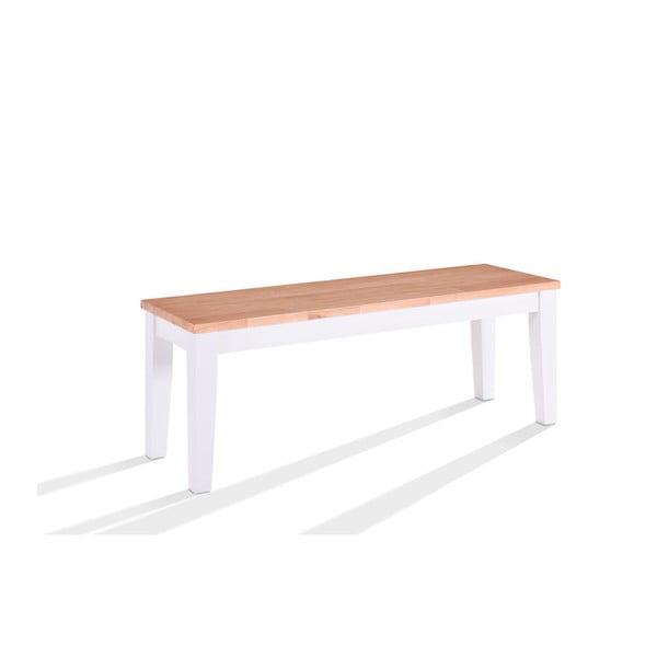 Bancă din lemn furniruit VIDA Living Rona, lungime 120 cm