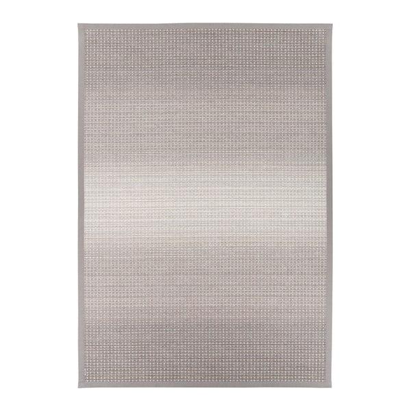 Moka Linen szürkés-bézs kétoldalas szőnyeg, 100 x 160 cm - Narma