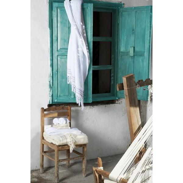 Turecká osuška Meryem Turquoise Special, 95x170 cm