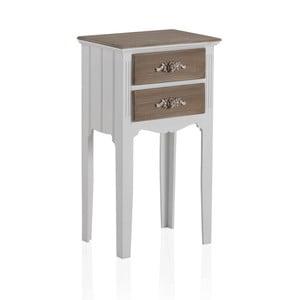 Odkládací stolek se 2 zásuvkami Geese Anna