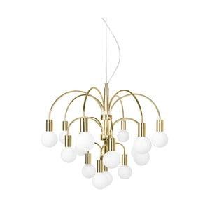 Závěsné svítidlo v barvě mosazi GlobenLighting Grace XL