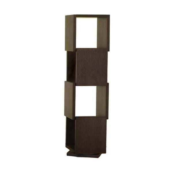Otočná knihovna Rotative Chocolate