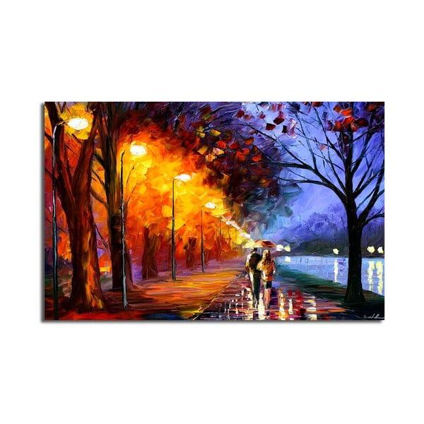 Obraz na plátně Fall Walk, 70x45cm