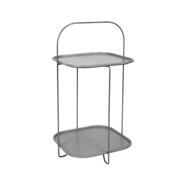 Trays szürke tárolóasztal - Leitmotiv