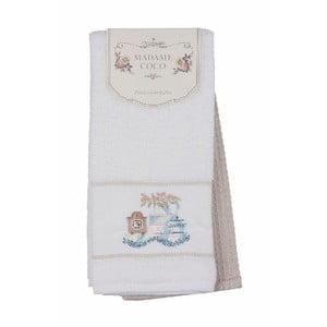 Sada 2 bavlněných ručníků Madame Coco Poshy, 40x60cm