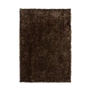 Ručně vyrobený hnědý koberec Kayoom Crystal,80x150cm