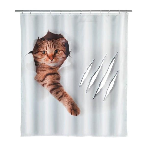 Cat zuhanyfüggöny, 180 x 200 cm - Wenko