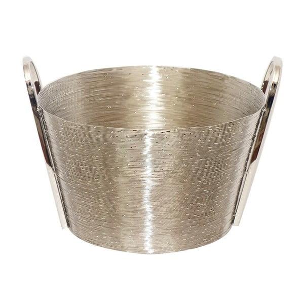Košík z nerez oceli Herkules, 37 cm