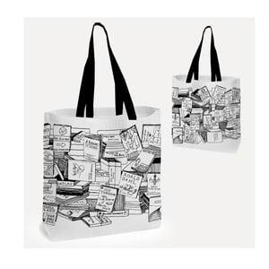 Taška do ruky nebo na rameno U Studio Design Books, 38 x 38 cm