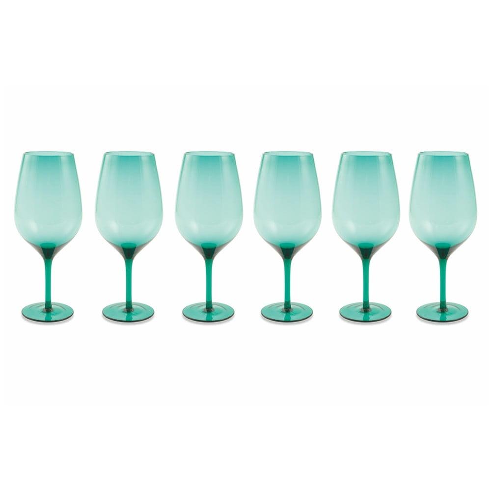 Sada 6 světle modrých pohárů Villad'Este Happy Hour