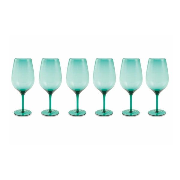 Set 6 pahare Villa d'Este Happy Hour, albastru
