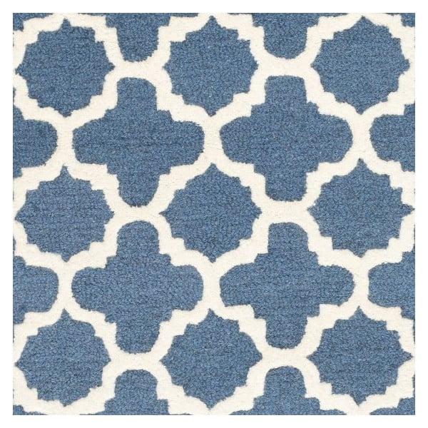 Vlněný koberec Safavieh Bessa 152x243 cm, modrý