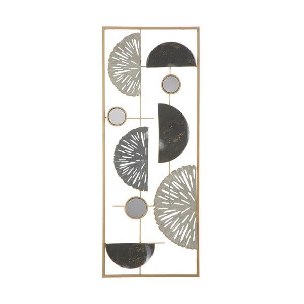 Metalowa dekoracja ścienna Mauro Ferretti Geometric, 28,5x74 cm