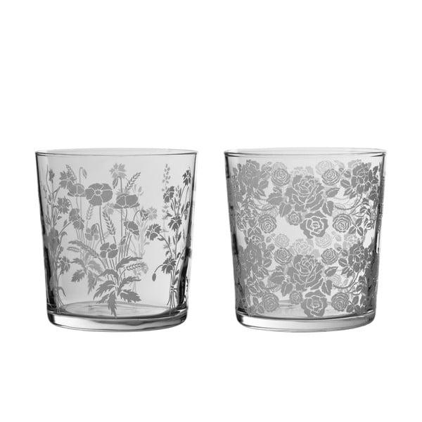 Set 4 sklenic Roses, 370 ml