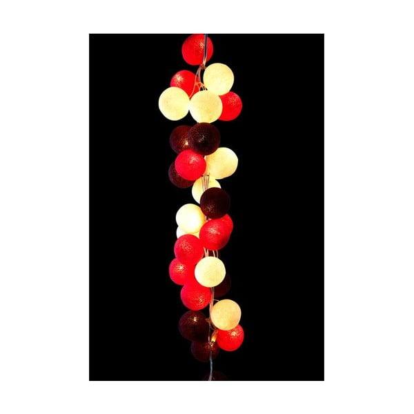 Světelný řetěz Cherry Pop, 20 ks světýlek