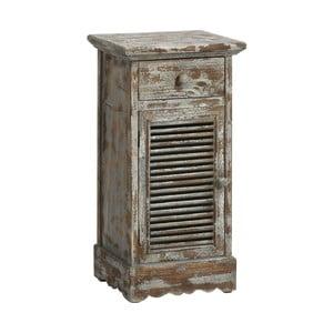 Komoda/noční stolek Antique, modrá patina