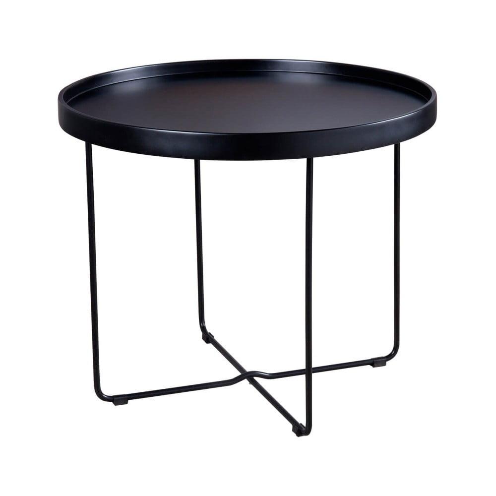 Produktové foto Černý odkládací stolek sømcasa Dave