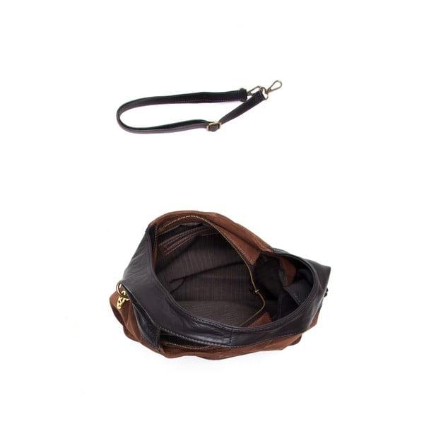 Kožená kabelka Mangotti 8000 Marrone