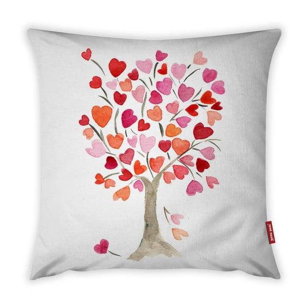Față de pernă Vitaus Love Tree Rose, 43 x 43 cm