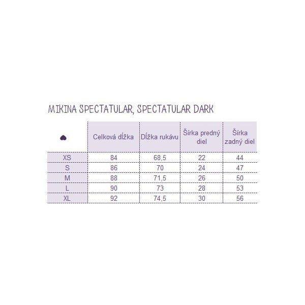 Mikina Spectacular Dark, velikost S