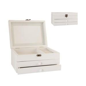 Krabička na šperky White