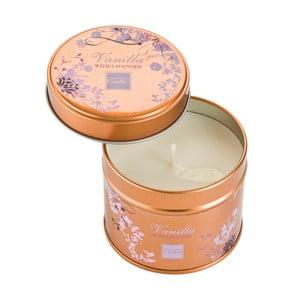 Aroma svíčka v plechovce Copenhagen Candles  Vanilla with Lavender, doba hoření 32 hodin