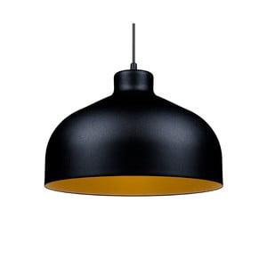 Černo-zlaté stropní světlo Loft You B&B, 33 cm