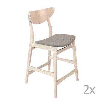 Set 2 scaune din lemn pentru bar RGE William