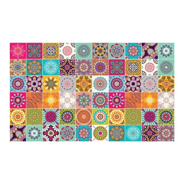 Set 60 autocolante Ambiance Tiles Vintage, 10 x 10 cm