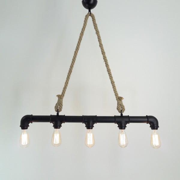 Stropní svítidlo se 6 žárovkami Borulu