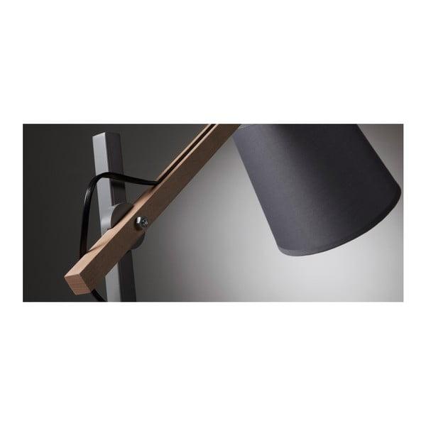 Šedá stolní lampa La Forma Jovik