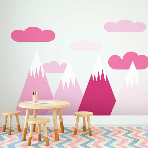 Nástěnná samolepka Ambiance Scandinavian Giant Mountains Shaka