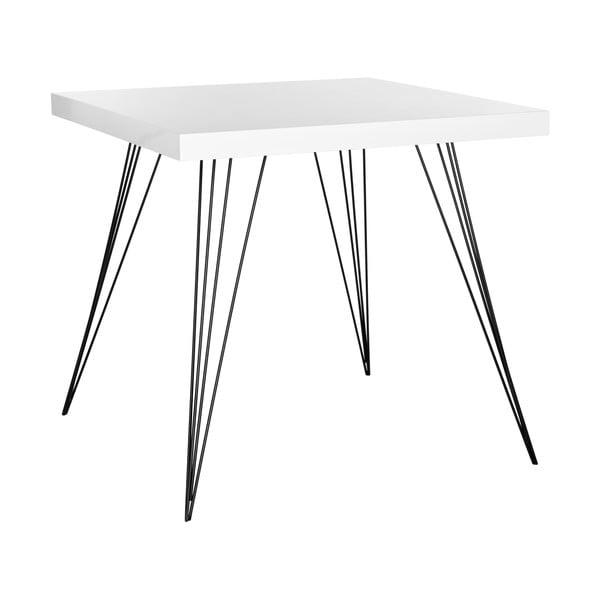 Jídelní stůl Kayla, bílý